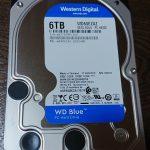 6TB HDD 3台購入w
